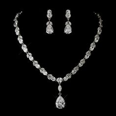 Affordable Elegance Bridal - Glamorous Cubic Zirconia Pendant Wedding Jewelry Set - sale!, $105.99 (http://www.affordableelegancebridal.com/glamorous-cubic-zirconia-pendant-wedding-jewelry-set-sale/)