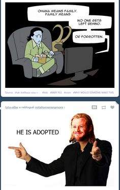 Pfffffttt.... I feel really bad for loki, naturally, but the look on thor's face is priceless.