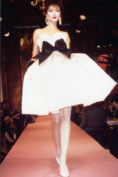 givene:    Christian Lacroix for Jean Patou Haute Couture Spring/Summer 1987
