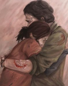 Last of Us- Joel and Ellie by iaterocks