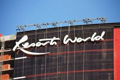 Resorts World sign! Las Vegas Hotels, Resorts, Neon Signs, World, Hotels In Las Vegas, Vacation Resorts, Beach Resorts, The World, Vacation Places