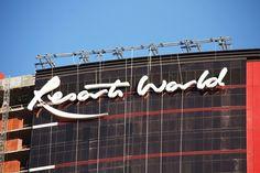 Resorts World sign! Las Vegas Hotels, Resorts, Neon Signs, World, Tips, Hotels In Las Vegas, Vacation Resorts, Beach Resorts, The World