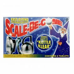 AGA Scale-Be-Gone Kettle Descaler Tablets..This may come in handy!