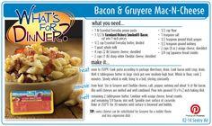 Bacon & Gruyere Mac-N-Cheese