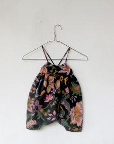 Image of floral jumpsuit