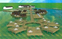 Primul sat pescaresc se construieste de la zero in Tuzla. Va fi pe malul marii si va avea case pe apa! GALERIE FOTO