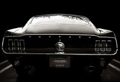 Muscle car classic: Mustang.