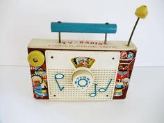 Vintage Fisher Price TV Radio
