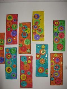 Ronds - Webécoles - Grenoble 4 - Ideas for Art Classes - # for . Kadinsky Art, Art Kandinsky, Kindergarten Art, Preschool Art, Ecole Art, Shape Art, Collaborative Art, Art Club, Art Plastique