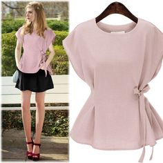 Fashion Embroidery Women Shirts Tops Flare Long Sleeve Chiffon ...