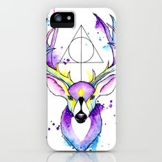 Harry Potter Patronus iPhone Case