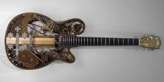 3ders.org - First 3D printed guitar in Holland auctioned off for charity | 3D Printer News & 3D Printing News