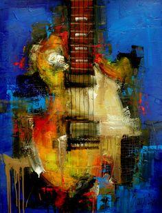 Original Painting - Modern Abstract Art by SLAZO - 30x40