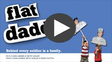 Flat Daddies and Flat Mommies are life-size photos of deployed service members. They are provided to help children better cope with the separation they experience when a parent is away from home for long periods of time.