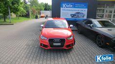 #Audi #Auto #Autofolierung #Folierung #Kfolia Dieses Auto ist in seinem neuen Design der absolute Hingucker!