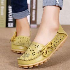 Brand: NO Shoe Type: Flat Shoes Toe Type:Round Toe Closure Type: Slip On Heel Type:Flat Heel Height: 2.5cm Gender: Female Occasion: CasualSeason: Spring Summer Autumn Color: Rose Pink Light Yellow Ora