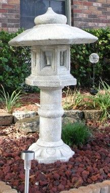 Brian found this miniature lighthouse for his garden at HomeGoods, we would love to see it at night!