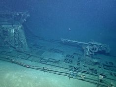 PHOTO: This image made from the A Tale of Two Wrecks: U-166 and SS Robert E. Lee video shows the top gun on the U-166 U-boat which was destroyed by depth charges from the Robert E. Lee escort vehicle, PC-566.