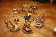 """Personally HANDMADE Spur & Bit Display Stands for your """"For Sale, Trophy or Favorite"""" Spur and Bit..Choose your style and wood type for your own personal display stand."""