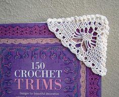link to crochet corner book mark