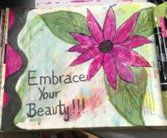 Art Journal page by Dale Anne Potter.