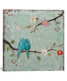 Love Birds IV Gallery-Wrapped Canvas   zulily