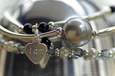 Blessing bracelets at Amelia's Fine Linens, Chesterfield, MO Fine Linens, Chesterfield, Alex And Ani Charms, Blessing, Amelia, Charmed, Bracelets, Jewelry, Bangles