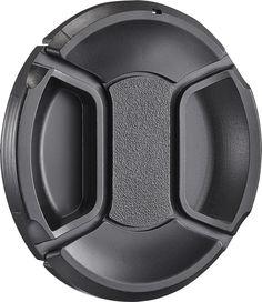 Insignia™ - 77mm Lens Cap - Black, NS-LC77