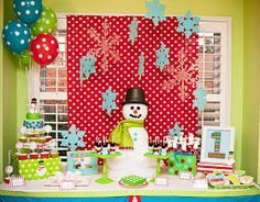 Amanda's Parties TO GO: Snowman Winter ONEderland Party {Customer Party}