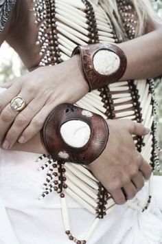 Bohemian bracelets, wood, leather, coconut. For more followwww.pinterest.com/ninayayand stay positively #pinspired #pinspire @ninayay