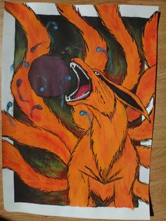 Kurama- Kyuubi by Arabians12 on DeviantArt