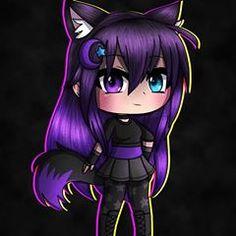 Gacha life girl is going to be the best Cute Kawaii Drawings, Anime Girl Drawings, Cute Animal Drawings, Wolf Drawings, Cute Characters, Cute Anime Character, Anime Characters, Cute Anime Chibi, Kawaii Anime