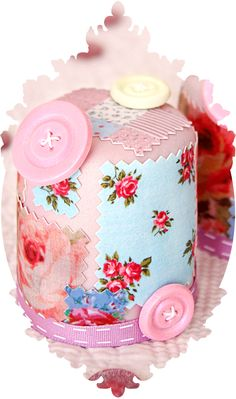 Patchwork Mini Cakes - I love these Pretty Cakes, Cute Cakes, Beautiful Cakes, Amazing Cakes, Fondant Cakes, Cupcake Cakes, Baby Cakes, Patchwork Cake, Funny Cake