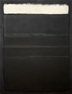 Mark Rothko Paintings [Markus Yakovlevich Rotkovich, b. September 25, 1903; Dvinsk, Vitebsk Governorate, Russian Empire (now Daugavpils, Latvia) – d. February 25, 1970; New York City, New York, USA] https://en.wikipedia.org/wiki/Mark_Rothko