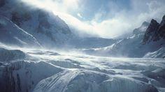 Wallpaper glacier k k wallpaper k ocean ice water nature Blue Sky Wallpaper, Wallpaper Windows 10, K Wallpaper, Mountain Wallpaper, Winter Wallpaper, Nature Wallpaper, Mountain Waterfall, Mountain Art, Sulphur Mountain