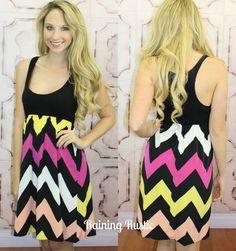 Chevron Diva Dress