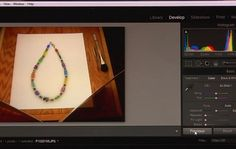 learn how to edit jewelry photography - from Jewelry Photography: Tips on What To Do (and What Not To Do) for Great Photos - Jewelry Making Daily