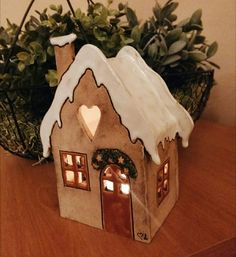 Advent, Martini, Gingerbread, Christmas Decorations, Pottery, Instagram, Clay Ideas, Home Decor, Clay