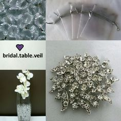 BRIDAL TABLE VEIL Accessories and decorations for that FINISHING touch ❤  www.bridaltableveil.ecwid.com