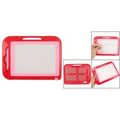 Affordable Red Pink Plastic Frame Magnetic Writing Drawing Board