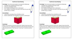 Close Reading bookmarks for nonfiction Reading Bookmarks, Close Reading, Dont Understand, Nonfiction, Bar Chart, Words, Non Fiction, Bar Graphs, Horse