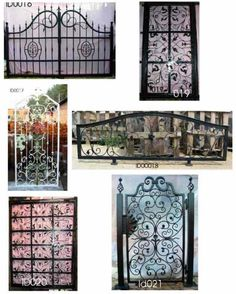 Ornamental Iron Fence Accent To Stucco Property Fence