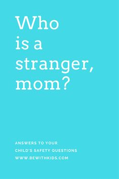 Stranger danger: How to explain the difference between safe and unsafe strangers to your child - parenting safety tips Practical Parenting, Natural Parenting, Gentle Parenting, Parenting Advice, Teaching Safety, Teaching Kids, Stranger Danger, How To Teach Kids, Parent Resources