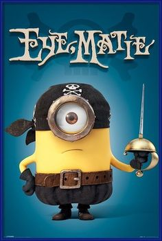 Framing posters on Europosters - Minions - Eye Matie