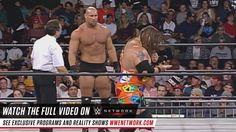 Goldberg's streak fueled WCW's battle vs WWE in the Monday Night War. Learn more on WWE Network. http://wwe.com/wwenetwork/cena