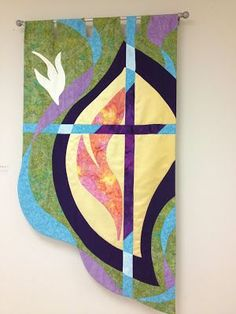 Image result for Beautiful for Church Banners Quilt