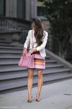 fall business work outfit idea_extra petite boston