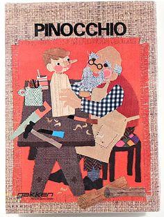 """Pinocchio"" illustrated by Sakura Fujita, 1972"