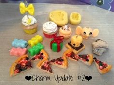 ❤Polymer Clay Charm Update #2: Food & Molds!❤