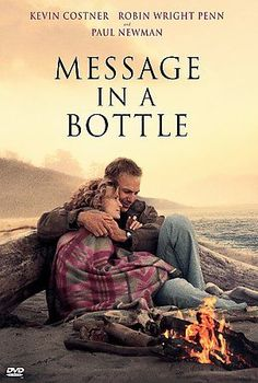 Message in a Bottle (DVD, 1999, Widescreen) Drama Kevin Costner PG-13 Region 1  #WB